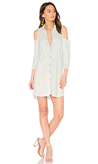 Sara frayed dress - maven west