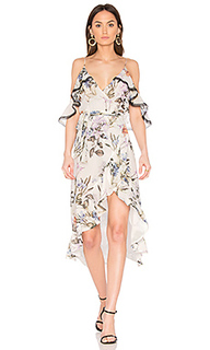 Iris floral wrap dress - NICHOLAS
