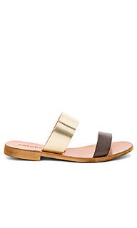 Leather slide sandals - cocobelle
