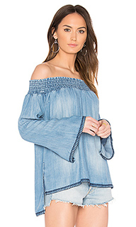 Smocked off shoulder top - Bella Dahl