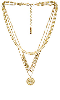 X sabo luxe noa coin charm necklace - Luv AJ