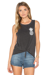 Pineapple tie front muscle tee - Chaser
