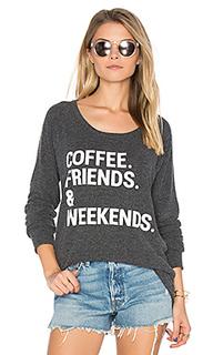 Пуловер coffee friends & weekends - Chaser