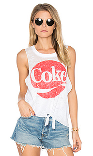 Coke tie front muscle tee - Chaser
