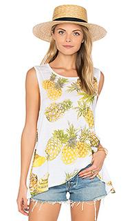 Майка с оборкой pineapples - Chaser