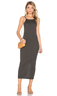 Rib maxi dress - Autumn Cashmere