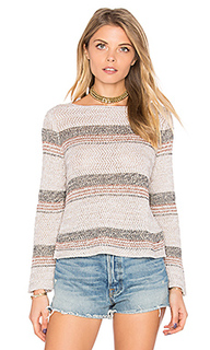 Chevron crop sweater - Autumn Cashmere