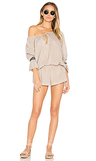 The rose hill muslin romper - One Teaspoon