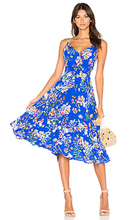 Миди-платье с цветочным рисунком - Yumi Kim