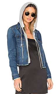 Beacon hooded jean jacket - Central Park West