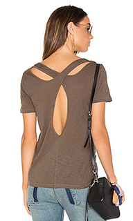 Cross back slub tee - Splendid