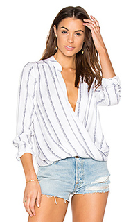 Rope stripe print blouse - Splendid