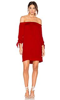 Платье с завязкой на рукавах - Michael Stars