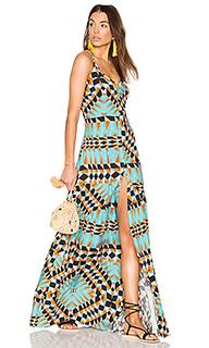 Платье-макси с открытой спиной - Lenny Niemeyer