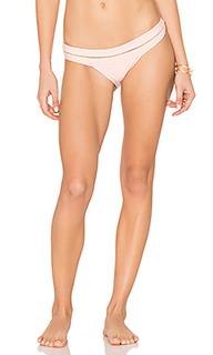 Banded mesh teeny bikini bottom - PILYQ