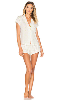 Короткая пижами palm - eberjey