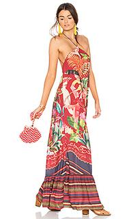 Длинное платье birds of paradise - FARM