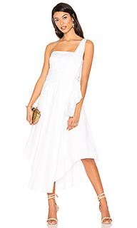 Миди платье на одно плечо - KENDALL + KYLIE