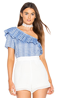 Chambray jacquard top - Splendid