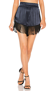 Donnelly satin shorts - Ganni