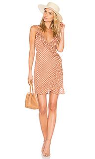 Платье со сборками caliente - LIONESS
