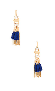Tassel and fringe chandelier earring - Rebecca Minkoff