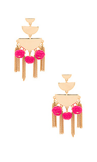 Triple tier chandelier earring - Rebecca Minkoff