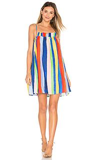 Платье-мини со сборками - Mara Hoffman