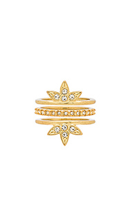 Posie pave ring set - Luv AJ