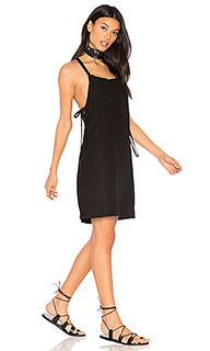 Bib slip dress with ties - YORK street