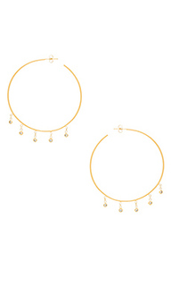 Cz shaker hoop earrings - Jacquie Aiche