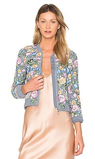 Ажурная куртка-бомбер foliage - Needle & Thread