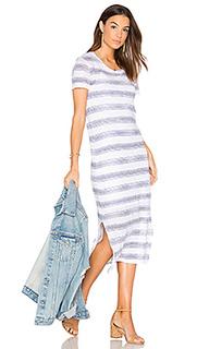 Linen jersey t shirt midi dress - Stateside