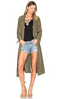 Tie trench coat - YORK street