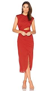 Ruched hi low dress - Halston Heritage