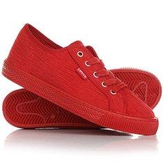 Кеды кроссовки низкие женские Levis Malibu Regular Red Levis®