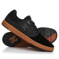 Кеды кроссовки низкие DC Plaza Tc S Black/Gum