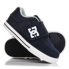 Кеды кроссовки низкие детские DC Pure V Ii Navy
