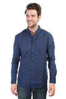 Рубашка DC Sidnaw Ls Blue Artisanal Print