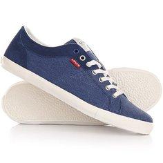 Кеды кроссовки низкие Levis Woods Royal Blue Levis®