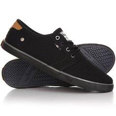 Кеды кроссовки низкие Wrangler Mitos Derby Black