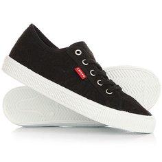 Кеды кроссовки низкие женские Levis Malibu Regular Black Levis®