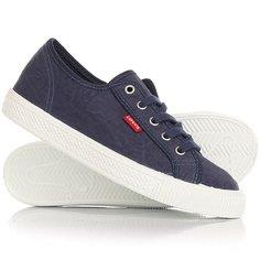 Кеды кроссовки низкие женские Levis Malibu Navy Blue Levis®