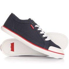 Кеды кроссовки низкие Levis Venice Navy Blue Levis®