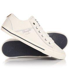 Кеды кроссовки низкие женские Wrangler Starry America White