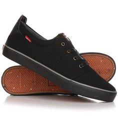 Кеды кроссовки низкие Levis Justin Low Lace Regular Black Levis®