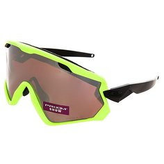 Маска для сноумобиля Oakley Wind Jacket 2.0 Neon Retina/Prizm Black Iridium/