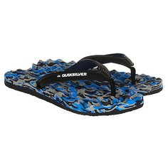 Вьетнамки Quiksilver Massage Black/Blue