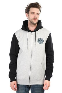Quiksilver Zingzanghozip Light Grey Heather