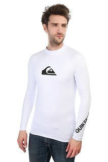 Гидрофутболка Quiksilver All Time Ls White